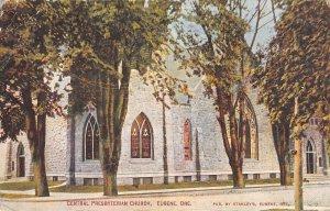 Central Presbyterian Church, Eugene, Oregon Vintage 1923 Postcard