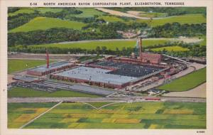 Tennessee Elizabethtown Aerial View North American Rayon Corporation Plant