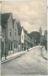 VINTAGE POSTCARD: GB - COLCHESTER 1907