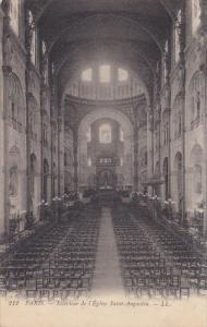 PARIS, France; Interieur de l'Eglise Saint-Augustine, 00-10s
