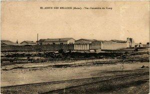 CPA AK MAROC EL AIOUN SIDI MELLOUK - Vue d'ensemble du Camp (219138)