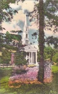 North Carolina Pinehurst Village Chapel In The Attractive SettingAlbertype