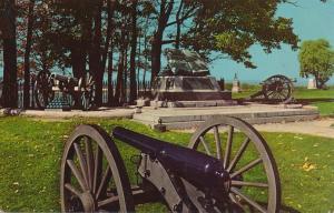 Civil War High Water Mark at Gettysburg PA, Pennsylvania - pm 1970