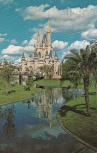 Florida Orlando Walt Disney World Cinderella Castle 1972