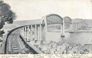 Saltash Railroad Bridge Plymouth 1903
