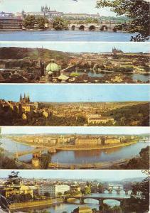 B63013 Praha panorama czech