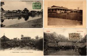 CONGO FRANCAISE FRENCH CONGO AFRIQUE AFRICA 43 CPA 1900-1950