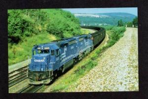 PA Conrail Railroad Train TUNNELHILL PENNSYLVANIA PENN Postcard PC Carte Postale