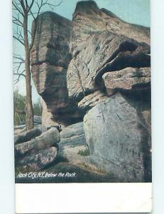 Unused Divided-Back POSTCARD FROM Rock City - Olean New York NY HM6192