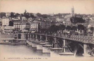SAINT-CLOUD, Vue generale et le Pont, Paris, France, 00-10s