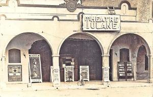 El Centro CA Tulane Theatre Movie Posters RPPC Postcard