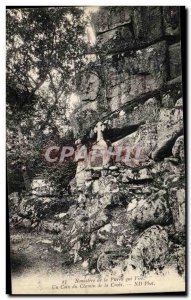 Old Postcard Paris Monastery of Peter Vire A Corner of the Cross