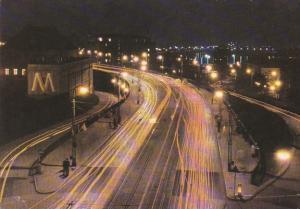 Poland Warsaw Trasa W - Z At Night