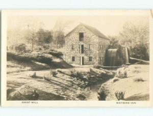 1930's rppc NICE VIEW Sudbury - Near Boston Massachusetts MA i8180