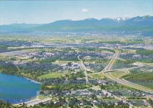 Canada Aerial View Burnaby British Columbia