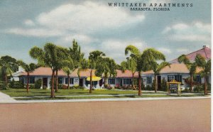 SARASOTA , Florida , 1930s ; Whittaker Apartments