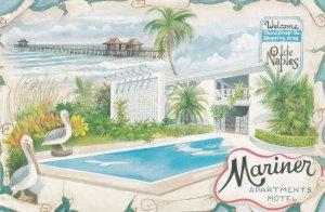 NAPLES, Florida, 1950-1960's; The Mariner Apartments-Motel