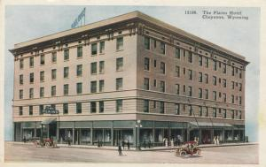 CHEYENNE, Wyoming, 1900-1910s; The Plains Hotel, Classic Cars, version 2