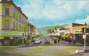 Canada Chilliwack Five Corners Street Scene Downtown 1967