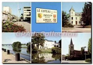 Modern Postcard Coteau Zwevegem Belgium Lorsch Germany