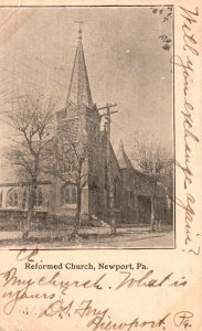 Pennsylvania Newport Reformed Church 1907