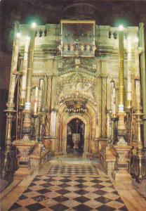 Israel Jerusalem Church Of Holy Sepulchere Chapel Of Angel Afteroom