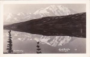 Alaska Mount Mc Kinley Real Photo