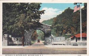 New York Watkins Glen Entrance To Watkins Glen