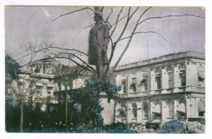 Statue of Nathan Hale, New York City  unused PPC