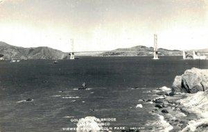 USA California San Francisco Golden Gate Bridge Viewed from Lincoln Park 03.87