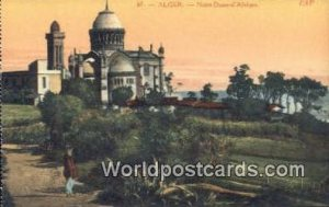 Notre Dame D'Afrique Alger Algeria, Africa, Unused