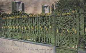 The Corn Fence Royal Street New Orleans Louisiana 1953