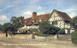 Mary Arden's Hosue, Wilmcote Stratford-upon-Avon UK, England, Great Britain U...