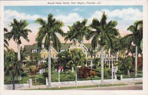 Florida Fort Myers Royal Palm Hotel 1941