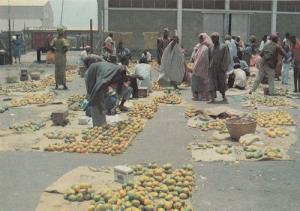 Banjul Gambia Fruit Albert Market African Postcard