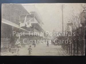 JAPAN: Osaka Street Scene, Old Postcard