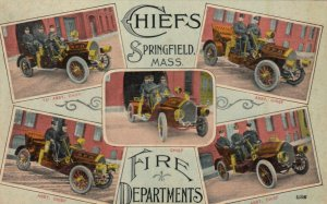 SPRINGFIELD , Massachusetts, 00-10s ; Chiefs of Fire Departments