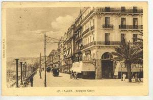 ALGER.- Boulevard Carnot , PU-1926