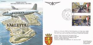 Vickers Valletta Aircraft Historic Flight Plane First Day Cover