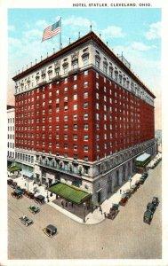 Ohio Cleveland Hotel Statler Curteich