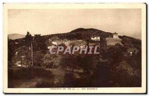 Old Postcard Trois Epis Vue Generale