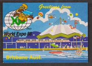 Greetings From Brisbane World Expo 1988 - Unused