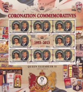 King George VI Tristan Da Cunha Royal Coronation Rare Mint Stamp Block Sheet