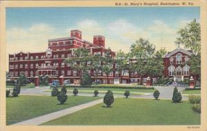West Virginia Huntington St Mary's Hospital 1945 Curteich