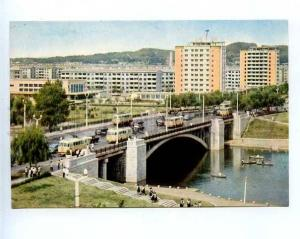 180374 Korea Pyongyang residential quarter Pothonbol postcard