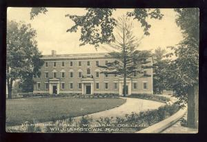 Williamstown, Massachusetts/MA/Mass Postcard, Berkshire Hall, Williams College