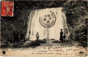 CPA Cascade de la VERNIERE (407990)