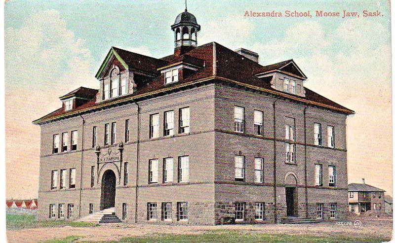 Alexandra School, Moose Jaw, Sask