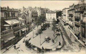 CPA Biarritz Place de la Liberte FRANCE (1126233)