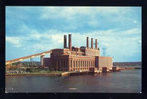Weymouth, Massachusetts/Mass/MA Postcard, Edgar Station Power Plant, Near Mint!